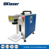 máquina de marcação a laser de fibra portátil para tubo de PVC