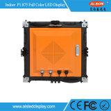 Do painel interno do diodo emissor de luz do arrendamento da cor P1.875 cheia parede video para o canal de televisão