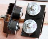 Faltbarer doppelter Rollen-Kopf-Gefäß-Halter (1107B)