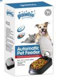 Solo tazón de fuente del perro del alimentador automático de la sincronización del animal doméstico