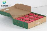 Gewölbtes Papier-Drucken-Farben-Verpacken- der Lebensmittelkasten