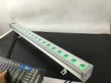 Rasha 18PCS*3W imprägniern farbenreiche LED im Freien helles Stadiums-Ereignis-Partei-Verein LED-Wand-Licht RGB-