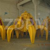 hydraulisches Schrott-Zupacken der orange Schalen-0.5cbm