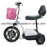 500W складывая самокат удобоподвижности 3 колес электрический для пожилых людей