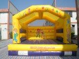 Bouncer Bouncy do palhaço do brinquedo para fora inflável do Moonwalk para os miúdos (T1-025)