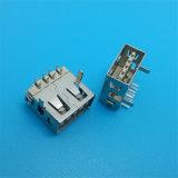 호리호리한 플라스틱 코어 4 Pin SMT/SMD USB 연결관