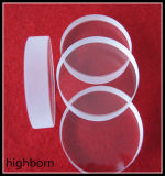 磨く明確な水晶ガラスディスク