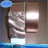 銅電気使用のための伝導性の接着剤が付いているホイルによって転送されるテープ