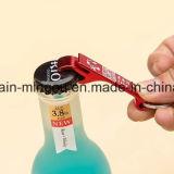 Encadenamiento dominante de aluminio en blanco barato modificado para requisitos particulares del abrelatas de botella del recuerdo del regalo
