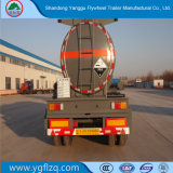 Beste Verkoop 3 het Hydroxyde van het Natrium van Assen/de Semi Aanhangwagen van de Tanker van het Vervoer van NaOH