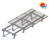 ISO9001 (MD0054)를 가진 고강도 지상 태양 전지판 설치