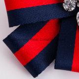 Лента Rhinestone Мужчины Женщины до шеи соединительных Brooches связали контакт бабочки кольцо ювелирные изделия (J01)