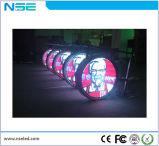 P8mm Affichage LED ronde de la publicité de plein air avec logo signer