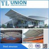 Estrutura de aço prefabricados Prédio Galpão para depósito/Oficina/Garagem com porta de Giro