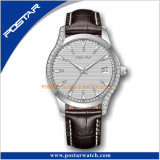 Snelle Levering Horloges van de Diamant van Dame Watch Customized de Klassieke