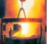 L'acier de la ferraille four de fusion par induction de cuivre métal usine four de fonderie
