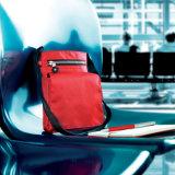 Dokumenten-oder Pass-Halter mit einigen Taschen mit kundenspezifischem Firmenzeichen