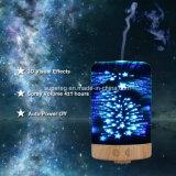 Lumières de nuit d'étoile d'humidificateur du diffuseur 3D de pétrole d'aromathérapie