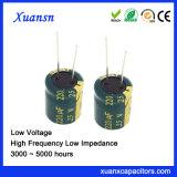 25V de Lage Elektrolytische Condensator van het Aluminium van de Impedantie 220UF