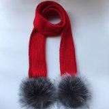 Модный трикотаж теплый украл для женщин и девочек из шарфа Lurex кабеля