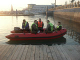 Foldable膨脹可能な速度の救助艇の救命ボートの船外モーター
