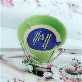 Aromacandle perfumada na jarra de vidro de estanho Promoção Dom Vela