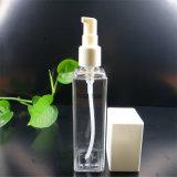 Quadratische freie Plastikflasche für Kosmetik