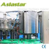 Оборудование машины завалки бутылки автоматического Carbonated питья пластичное