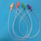Catéter disponible de la succión del control del dedo del PVC del tubo de succión del fabricante de la alta calidad