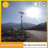 高品質太陽LEDはリチウム電池が付いている太陽街灯をつける