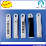소매점 Antitheft White Black Barcode 58kHz Security EAS AM Soft Label