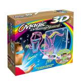 Jouets éducatifs 3D Magic Planche à dessin Les enfants de l'écriture des jouets DIY