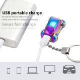 Brinquedo bonito do isqueiro do USB da forma do carro