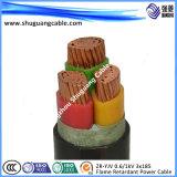 넣어지는 기갑 PVC Insulated/PVC 또는 강철 테이프 또는 탄광업 고압선