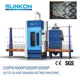 Le sablage au jet de verre vertical automatique de la qualité de la machine (CGPS-1600P)