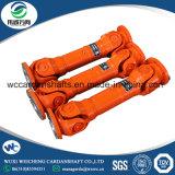 Wuxi Weicheng el eje de transmisión/U/eje de la junta del eje cardan para aplicaciones