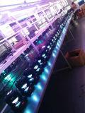 Heißes doppeltes mit Seiten versehenes LED bewegliches Hauptlicht des Verkaufs-Fabrik-Preis-1X10W 4X10W RGBW 4in1 mit Cer