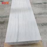8 mm de espessura superfícies Corian pasta salpicada superfície sólida para a bancada de cozinha