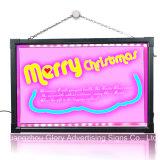 A publicidade escrita LED LED da placa da placa de mensagem