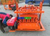 移動式ブロック機械Qmy4-45セメントの空のブロック機械価格