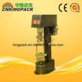 Bouchon d'aluminium semi-automatique machine/Ropp plafonnement d'étanchéité de la machine