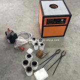 máquina de fusión de la inducción del oro 5kg para el bastidor de la joyería