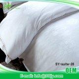 安く白いアパートの綿の寝具セット