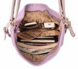 Sacchetto multifunzionale viola delle donne dell'unità di elaborazione del sacchetto classico di modo