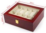 Venta caliente Caja de almacenamiento elegante reloj de joyería Organizador de la caja de regalo