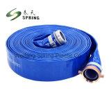 L'agriculture repose à plat en PVC flexible/Layflat flexible de décharge de l'irrigation