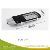 Indicatore luminoso di via di SL80 12W 24W 30W 36W 40W 60W 80W 100W LED