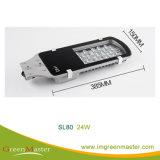 SL80 12W 24W 30W 36W 40W 60W 80W 100W luz de rua LED