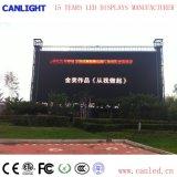 Indicador de diodo emissor de luz ao ar livre fixo da cor P8 cheia para anunciar a tela