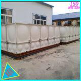 заводская цена изделий из стекловолокна GRP безопасности крепится болтами резервуаров для хранения воды пластика